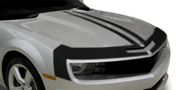 Upper Fascia & Hood Stripes on the 2010 to 2013 Chevy Camaro