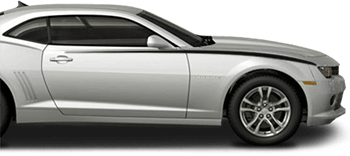 Front Upper Accent Stripes on the 2014 to 2015 Chevy Camaro