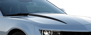 Hood Cowl Spears on the 2014 to 2015 Chevy Camaro