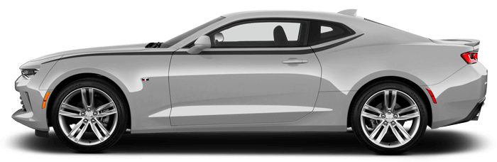 2016-2019 Camaro Side Upper Accent Spears on vehicle image.