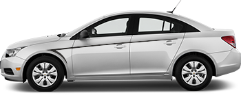 Side Front Needle Barbs for the 2012 to 2014 Chevy Cruze