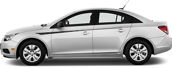 Side Upper Accent Needles for the 2012 to 2014 Chevy Cruze