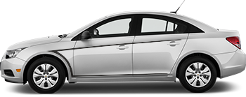 Side Needlpoints for the 2012 to 2014 Chevy Cruze