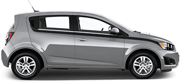 Upper Bodyline Stripes on the 2012 to 2016 Chevy Sonic Hatchback
