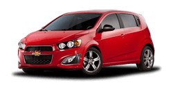 Vinyl Graphics, Stripes, and Decals Available for the 2012 to 2016 Chevy Sonic Hatchback