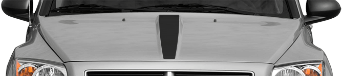 Image of Hood Center Stripe on 2007 Dodge Caliber
