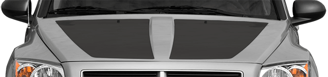 Image of Main Hood Decal / Stripe on 2007 Dodge Caliber