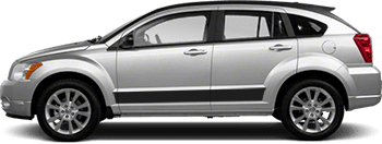 Rocker Panel Stripes on the 2007 to 2012 Dodge Caliber