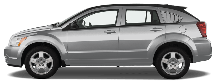 Image of Rear Side Window Simulated Louvers on 2007 Dodge Caliber