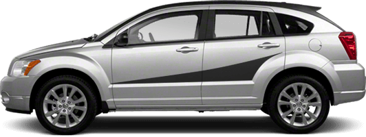 Image of Side Accent Stripes on 2007 Dodge Caliber