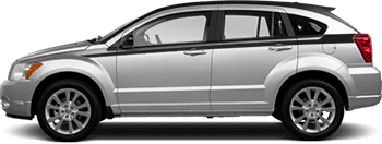 Upper Body Side (Cuda) Stripes on the 2007 to 2012 Dodge Caliber