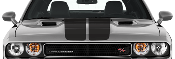 Dodge Challenger 2008 Blacktop '16 Rally Stripes Kit