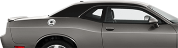 C-Pillar Accent Stripes on the 2008 to 2014 Dodge Challenger