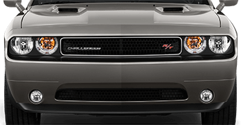 Front Fascia Blackout on the 2008 to 2014 Dodge Challenger