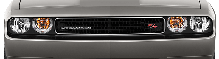 Image of Front Fascia Blackout on 2008 Dodge Challenger
