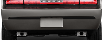 Rear Bumper Accents on the 2008 to 2014 Dodge Challenger