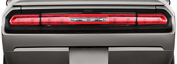 Rear Fascia Blackout on the 2008 to 2014 Dodge Challenger