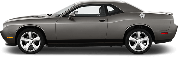 Dodge Challenger Rocker Panel Stripes Vinyl Decal