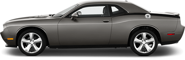 Image of Rear Quarter Stinger Stripes on 2008 Dodge Challenger