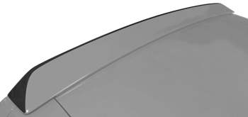 Image of Rear Spoiler Edge Blackout Decal on the 2008 Dodge Challenger