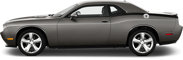 2015-2020 Challenger Rear Quarter Stinger Stripes on vehicle image.