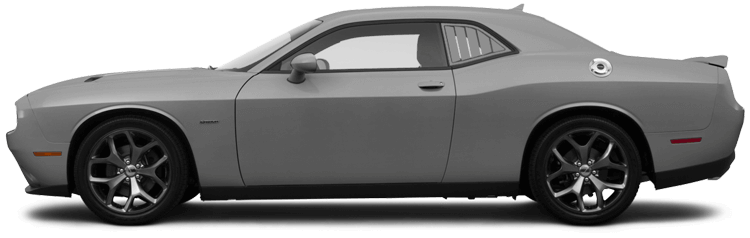 Dodge Challenger Rear Side Window Simulated Louvers