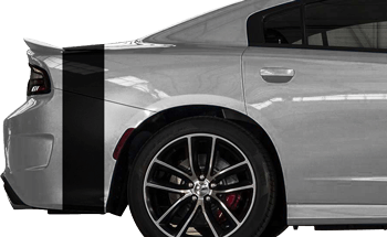 Bumblebee Rear Tail Stripes on the 2015 to Present Dodge Charger