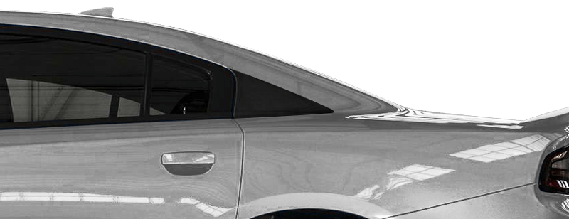 Image of C-Pillar Accents on 2015 Dodge Charger