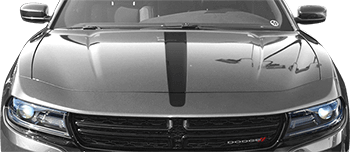 Hood Center Stripe on the 2015 to Present Dodge Charger