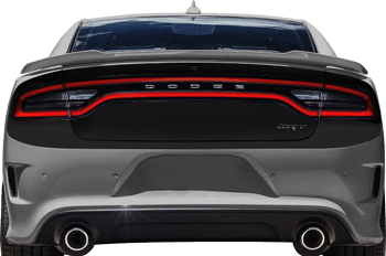 Rear Complete Blackout Decals on the 2015 to Present Dodge Charger
