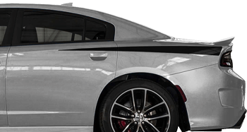 Rear Quarter Daytona Spikes on the 2015 to Present Dodge Charger