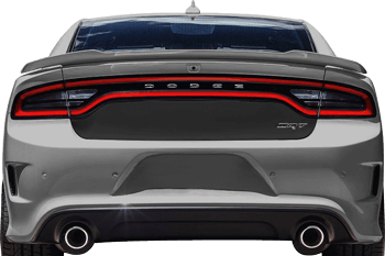 Trunk Blackout Decal on the 2015 to Present Dodge Charger