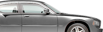 Front Body-line Stripes on the 2006 to 2010 Dodge Charger
