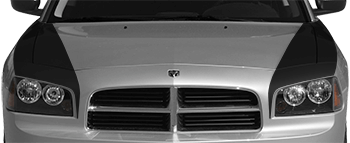Hood Side Blackouts on the 2006 to 2010 Dodge Charger