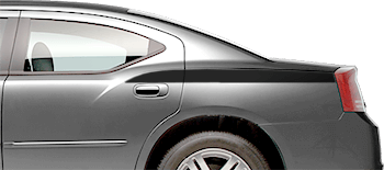 Rear Quarter Contour Stripes on the 2006 to 2010 Dodge Charger