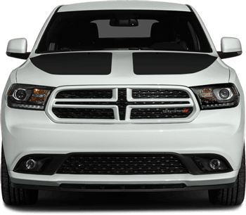 Main Hood Decals on the 2011 to Present Dodge Durango