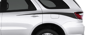 Rear Spike Stripes on the 2011 to Present Dodge Durango