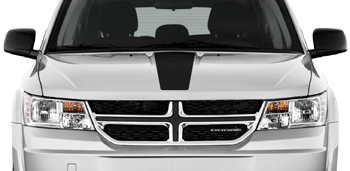 Hood Center Stripe on the 2011 to Present Dodge Journey