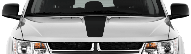 Image of Hood Center Stripe on 2009 Dodge Journey