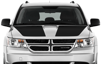 Main Hood Decals on the 2011 to Present Dodge Journey