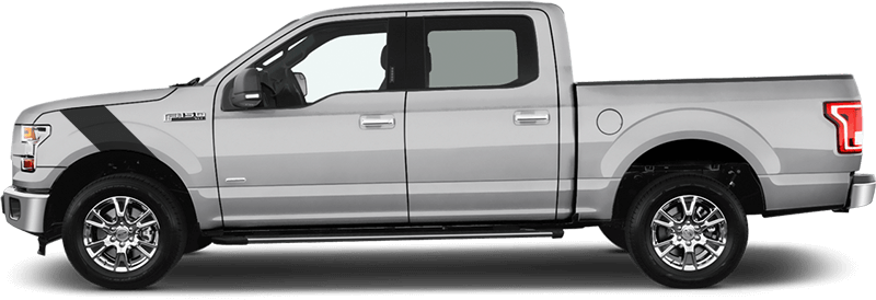Ford F 150 Le Mans Fender Stripes Vinyl Decal Graphic