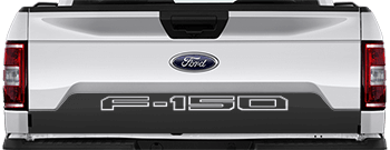 Image of Tailgate Lower Blackout on the 2015 Ford F-150