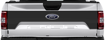 Image of Tailgate Mid Blackout on the 2015 Ford F-150