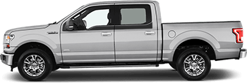 Image of Upper Door Accent Side Stripes on the 2015 Ford F-150