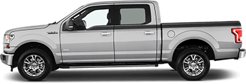 Image of Upper Side Stripes on the 2015 Ford F-150