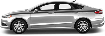 Image of Full Length Upper Side Stripes on the 2013 Ford Fusion