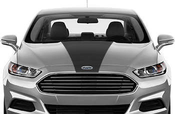 Image of Hood Center Stripe on the 2013 Ford Fusion