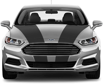 Image of Hood Side Stripes on the 2013 Ford Fusion