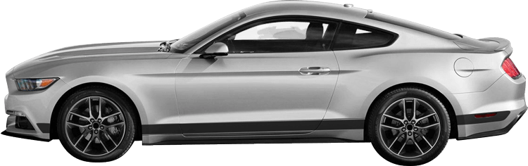 Image of Rocker Panel Stripes on 2015 Ford Mustang