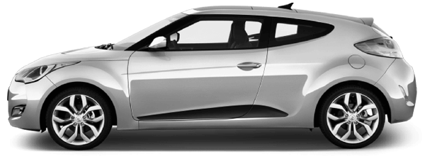 Image of Lower Side Scallop Accents on 2011 Hyundai Veloster